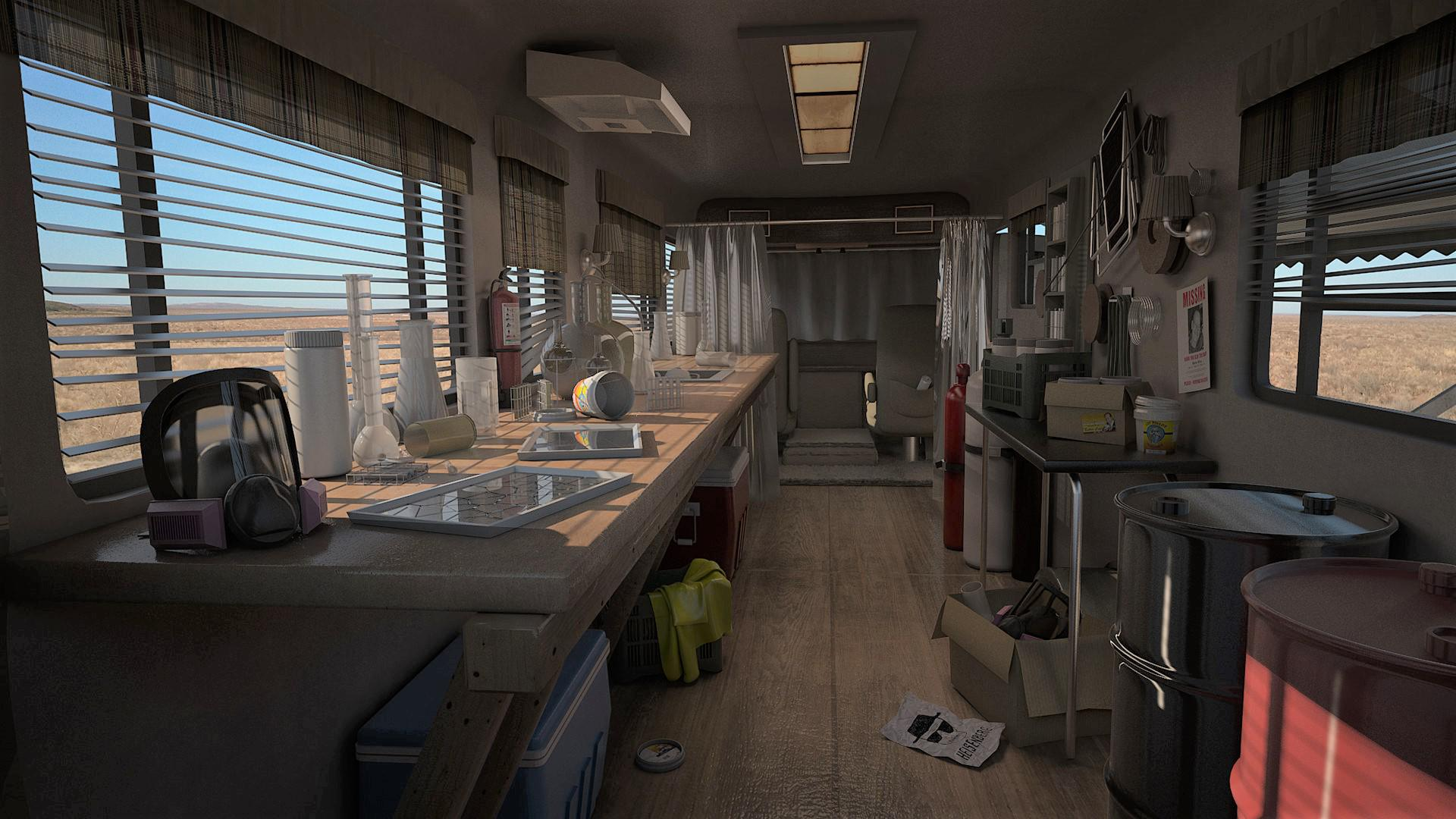 Breaking Bad - RV Interior