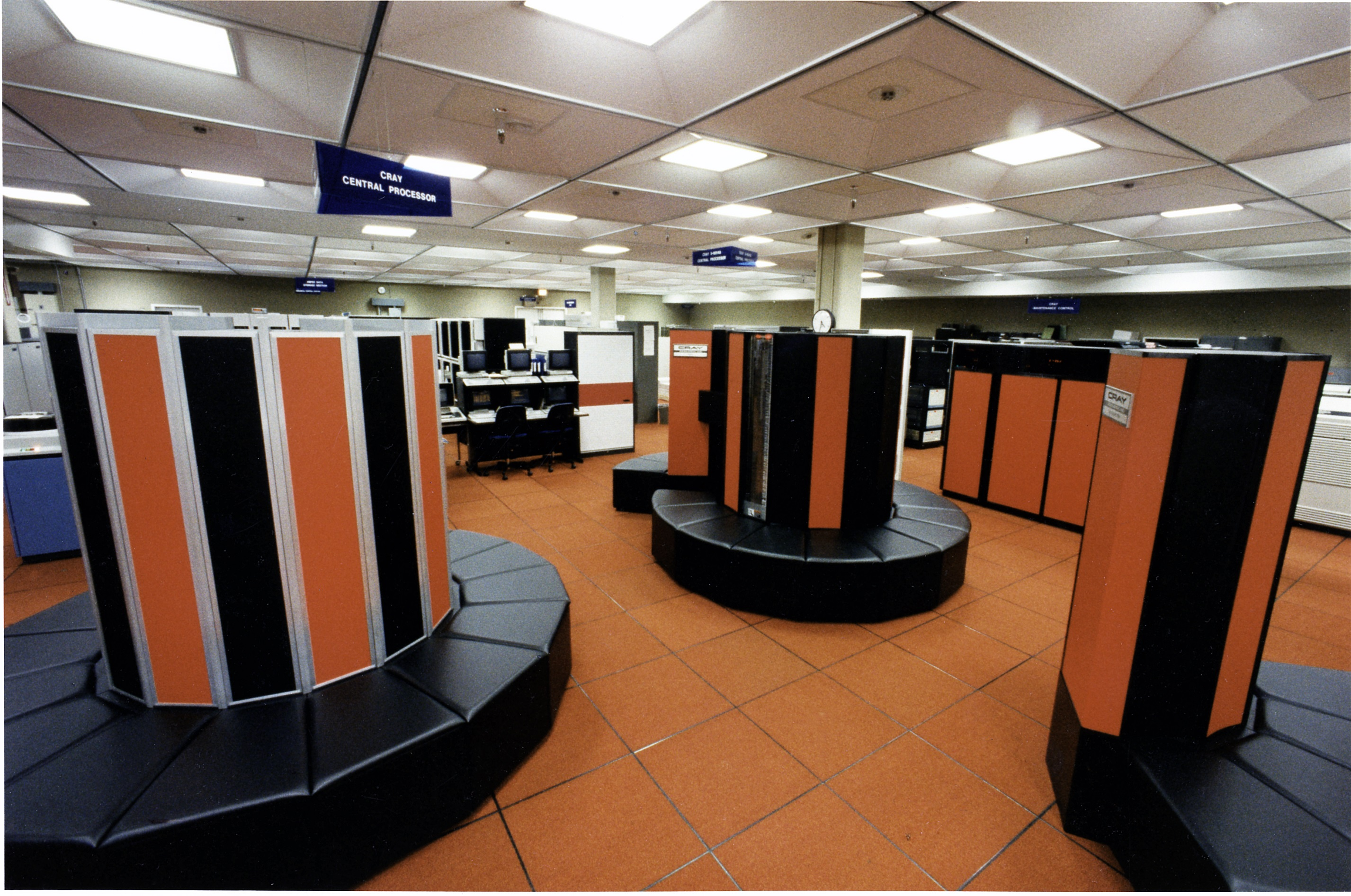 Cray supercomputer - NCAR Archives of the Cray
