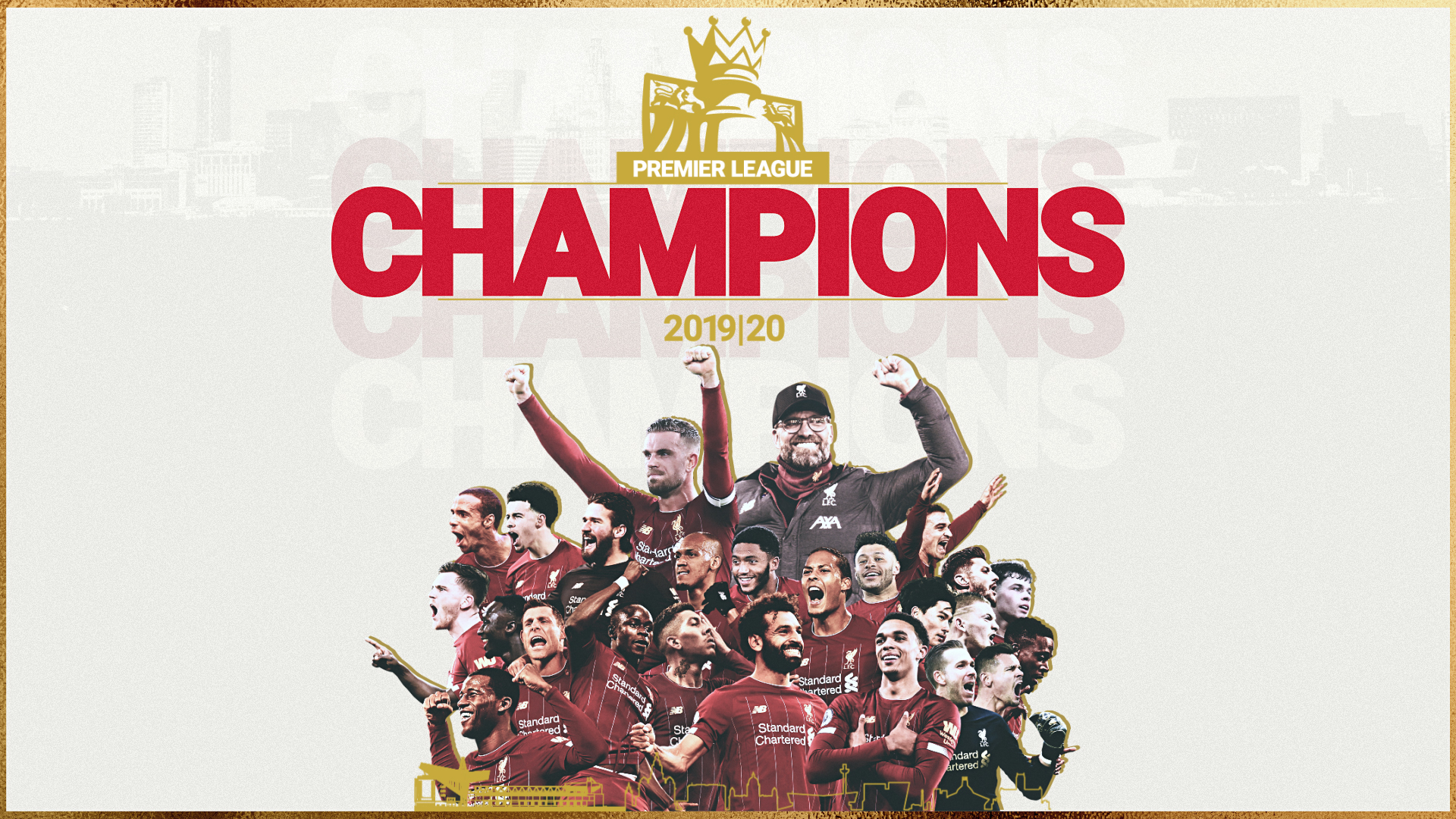 Liverpool Football Club - Premier League Champions 2019-2020
