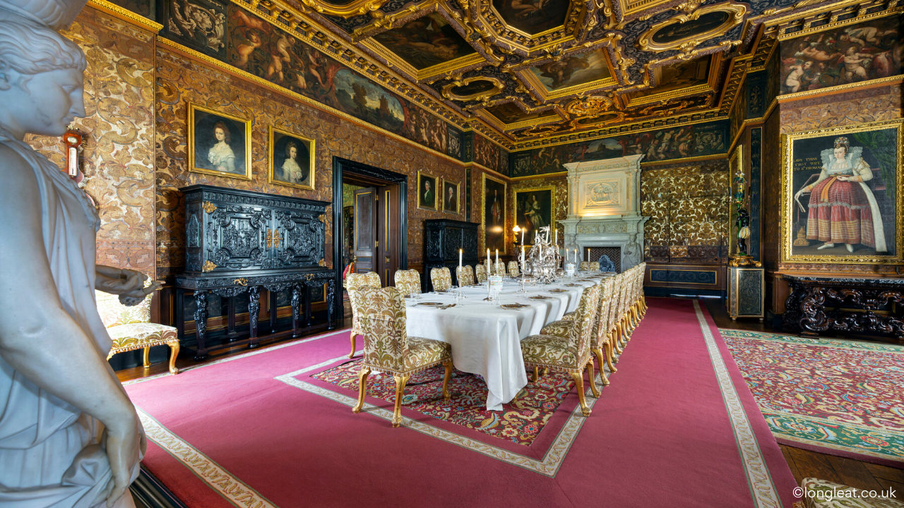 Longleat house 2 - State dining room