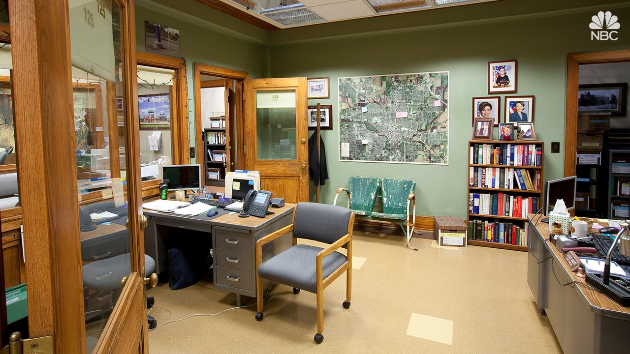 Parks and Recreation 3 - Main Open plan office area