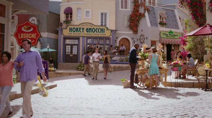 The Good Place 4 - Outdoor village area