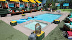 Big Brother 3 - Swimming pool and canoes